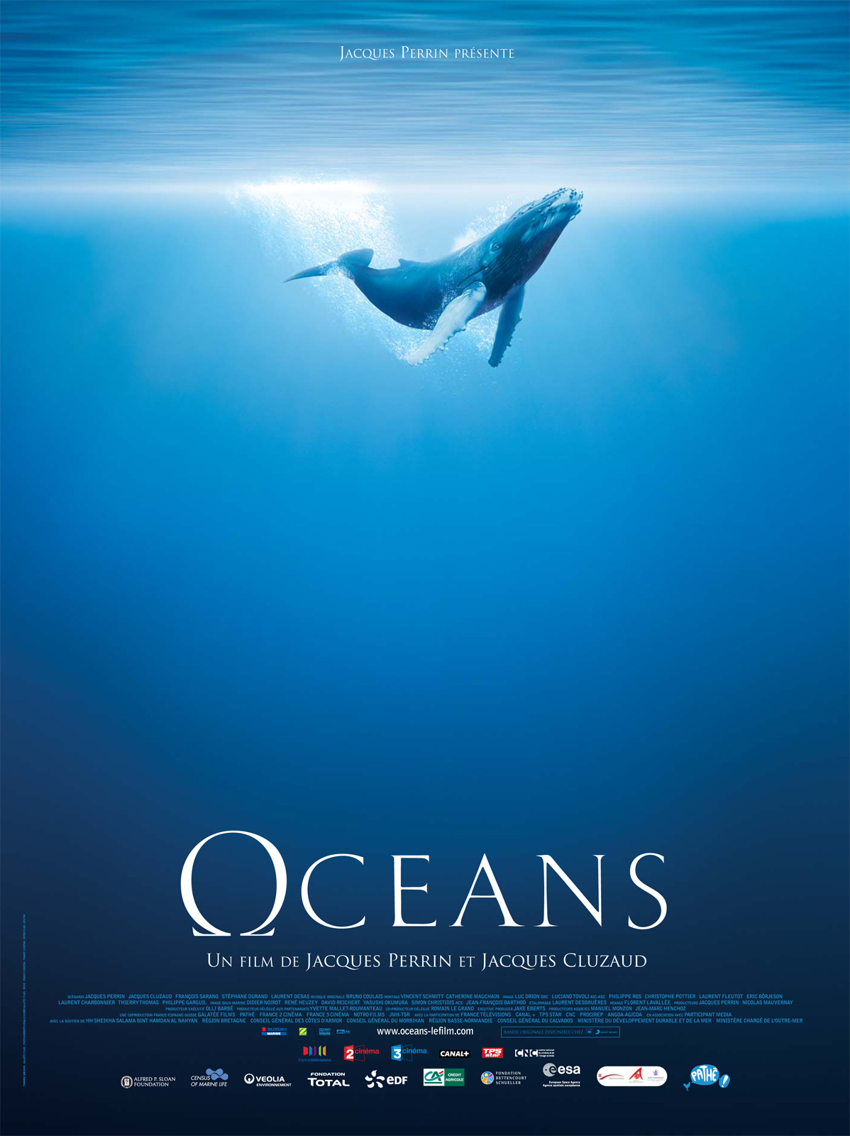 Documentaire film océans de Jacques Perrin