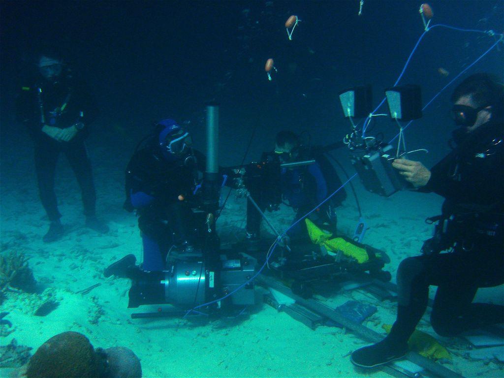Stage formation réalisation vidéo sous-marine
