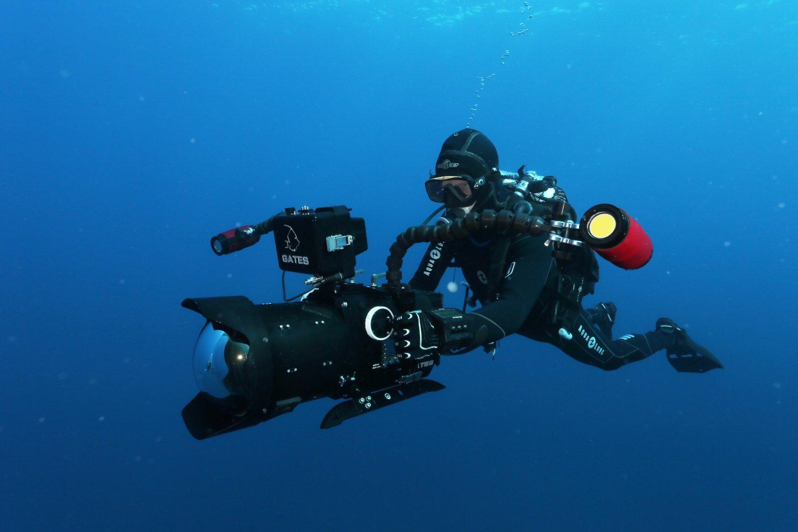 formation video prise de vue sous-marine