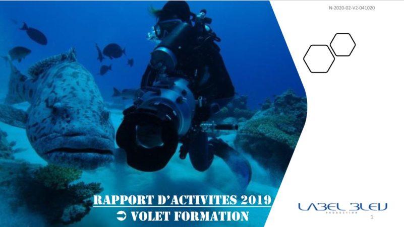 Label Bleu organise des formations-stages de réalisateur/Chef Opérateur sous-marin